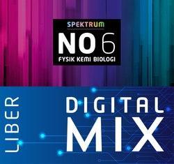 Spektrum NO 6 Mix Klasspaket (Tryckt och Digitalt) 12 mån