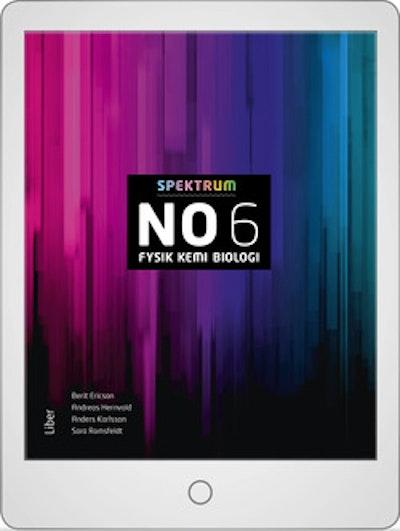 Spektrum NO 6 Digitalt Övningsmaterial (elevlicens) 12 mån
