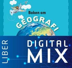 Boken om geografi Mix Klasspaket (Tryckt och Digitalt) 12 mån