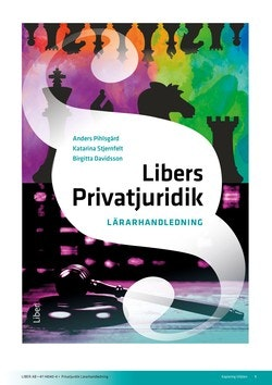 Libers Privatjuridik Lärarhandledning (nedladdningsbar) 12 mån