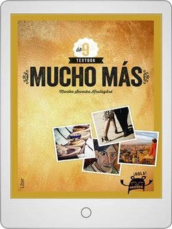 Mucho más åk 9 Digitalt Övningsmaterial (elevlicens) 12 mån