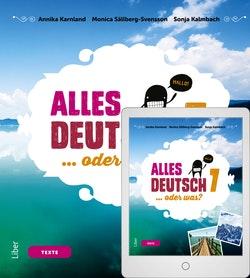 Alles Deutsch 7 Textbok med Digitalt Övningsmaterial