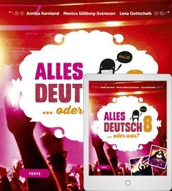 Alles Deutsch 8 Textbok med Digitalt Övningsmaterial