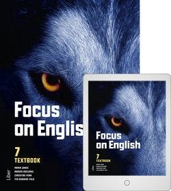 Focus on English 7 Textbook med Digitalt Övningsmaterial
