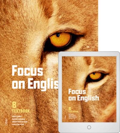 Focus on English 8 Textbook med Digitalt Övningsmaterial