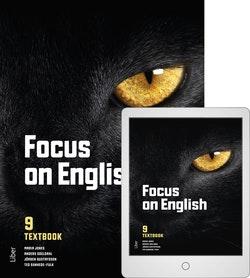 Focus on English 9 Textbook med Digitalt Övningsmaterial