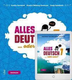 Alles Deutsch 7 Övningsbok med Digitalt Övningsmaterial