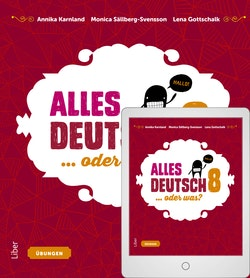 Alles Deutsch 8 Övningsbok med Digitalt Övningsmaterial
