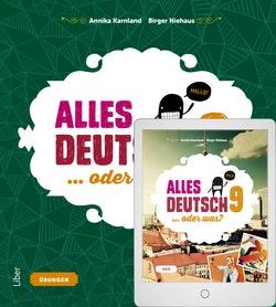 Alles Deutsch 9 Övningsbok med Digitalt Övningsmaterial