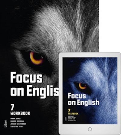 Focus on English 7 Workbook med Digitalt Övningsmaterial