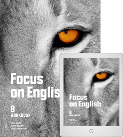 Focus on English 8 Workbook med Digitalt Övningsmaterial