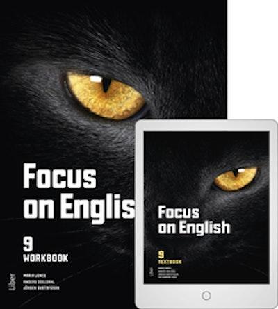 Focus on English 9 Workbook med Digitalt Övningsmaterial