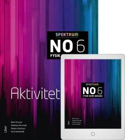 Spektrum NO 6 Aktivitetsbok med Digitalt Övningsmaterial