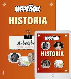 Upptäck Historia Arbetsbok 1 med Digitalt Övningsmaterial