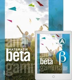 Matematik Beta Grundbok med Digitalt Övningsmaterial (elevlicens)