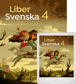 Liber Svenska 4 Bok + Digital
