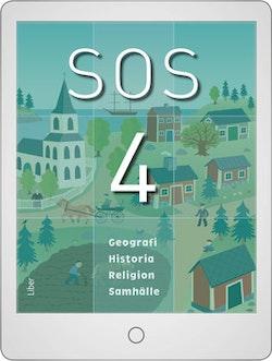 SOS 4 Digital (lärarlicens) 12 mån