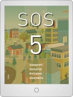 SOS 5 Digital (elevlicens) 12 mån