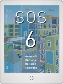 SOS 6 Digital (lärarlicens) 12 mån