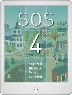 SOS 4 Digitalt Övningsmaterial (elevlicens) 12 mån