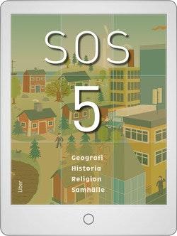 SOS 5 Digitalt Övningsmaterial (elevlicens) 12 mån