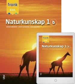 Frank Naturkunskap 1b med Digitalt Övningsmaterial