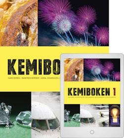 Kemiboken 1 med Digitalt Övningsmaterial