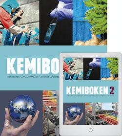 Kemiboken 2 med Digitalt Övningsmaterial