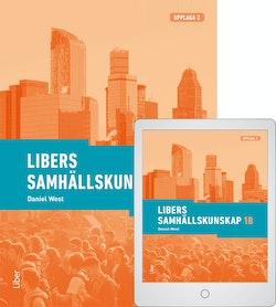 Libers samhällskunskap 1b med Digitalt Övningsmaterial