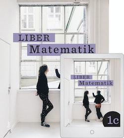 Liber Matematik 1c med Digitalt Övningsmaterial