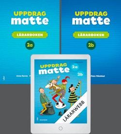 Uppdrag Matte 2 Lärarböcker med Lärarwebb
