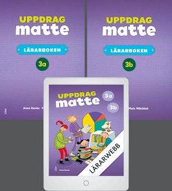 Uppdrag Matte 3 Lärarböcker med Lärarwebb