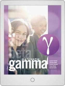 Matematik Gamma Digitalt Övningsmaterial (elevlicens) 12 mån