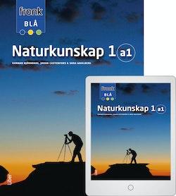 Frank Blå Naturkunskap 1a1 med Digitalt Övningsmaterial