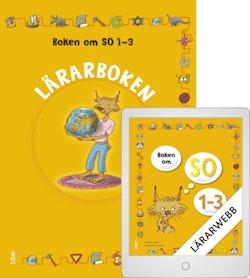 Boken om SO 1-3 Lärarbok med Lärarwebb 12 mån