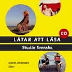 Studio Svenska Låtar att läsa cd