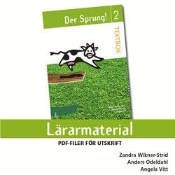 Der Sprung! 2 Lärarmaterial cd