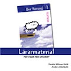 Der Sprung 3 Lärarmaterial cd