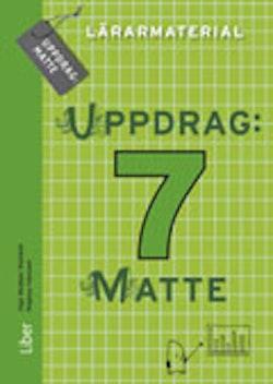 Uppdrag Matte 7 Lärarmaterial / CD