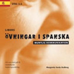 Libers övningar i spanska: Muntlig kommunikation steg 3-5