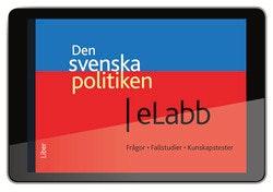 Den svenska politiken eLabb (6 mån) - Strukturer, processer och resultat