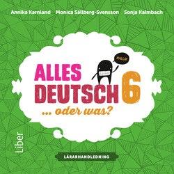 Alles Deutsch 6 Lärarhandledning cd