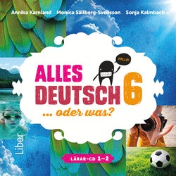 Alles Deutsch 6 Lärar-cd 1-2