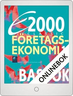 E2000 Classic Företagsekonomi 1 Basbok Onlinebok Grupplicens 12 mån