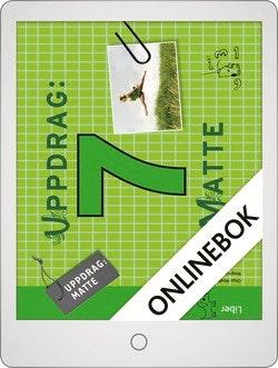 Uppdrag Matte 7 Onlinebok Grupplicens 12 mån