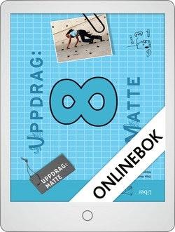 Uppdrag Matte 8 Onlinebok Grupplicens 12 mån