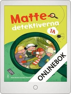 Mattedetektiverna 1A Grundbok Onlinebok Grupplicens 12 mån