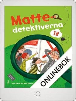 Mattedetektiverna 1B Grundbok Onlinebok Grupplicens 12 mån