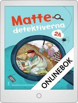 Mattedetektiverna 2A Grundbok Onlinebok Grupplicens 12 mån