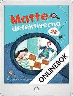 Mattedetektiverna 2B Grundbok Onlinebok Grupplicens 12 mån